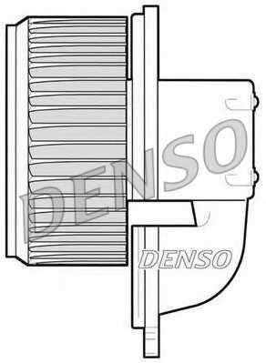 Вентилятор салона DENSO DEA09022 - изображение