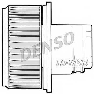 Вентилятор салона DENSO DEA09023 - изображение 1