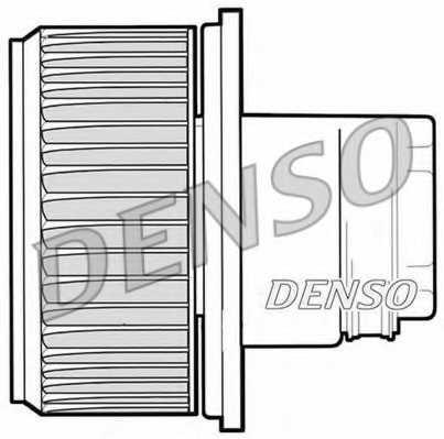 Вентилятор салона DENSO DEA09023 - изображение