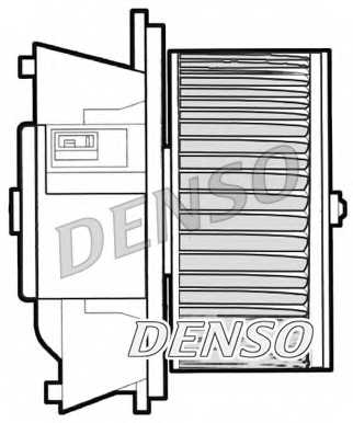 Вентилятор салона DENSO DEA09042 - изображение 1