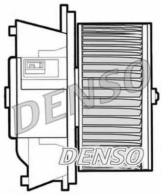Вентилятор салона DENSO DEA09042 - изображение