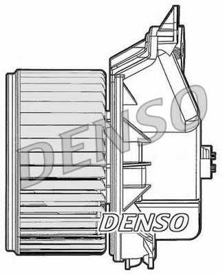 Вентилятор салона DENSO DEA09045 - изображение