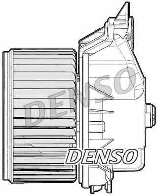Вентилятор салона DENSO DEA09047 - изображение 1