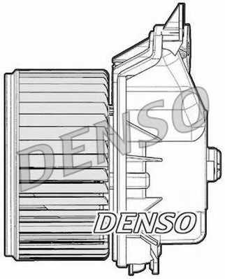 Вентилятор салона DENSO DEA09047 - изображение