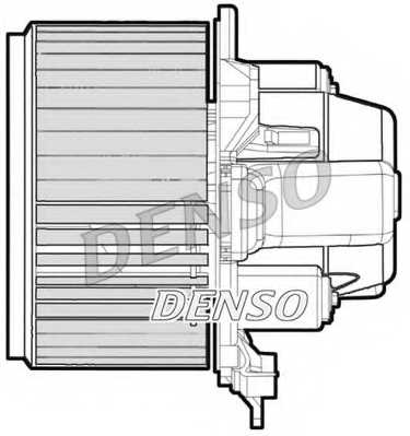 Вентилятор салона DENSO DEA09051 - изображение 1