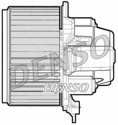 Вентилятор салона DENSO DEA09051 - изображение