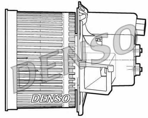 Вентилятор салона DENSO DEA09060 - изображение