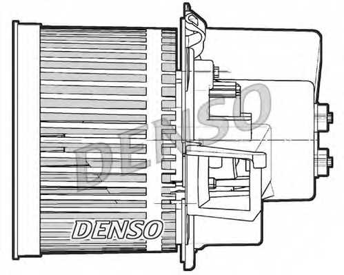 Вентилятор салона DENSO DEA09063 - изображение 1