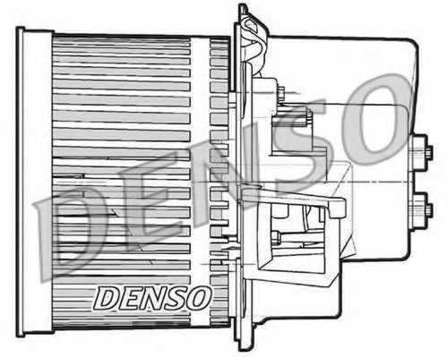 Вентилятор салона DENSO DEA09063 - изображение