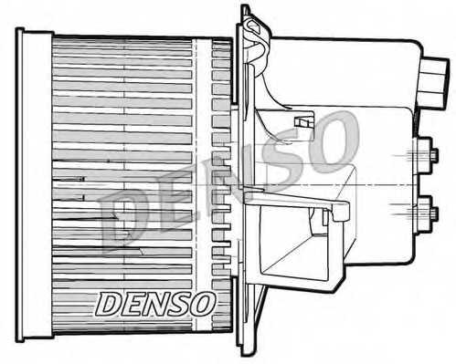 Вентилятор салона DENSO DEA09064 - изображение 1
