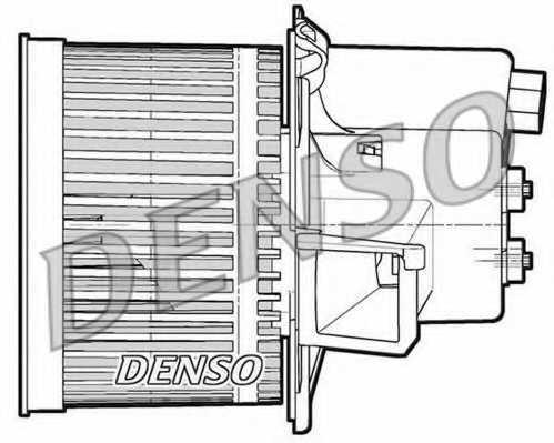 Вентилятор салона DENSO DEA09064 - изображение