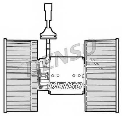 Вентилятор салона DENSO DEA12001 - изображение 1