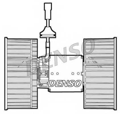 Вентилятор салона DENSO DEA12002 - изображение 1
