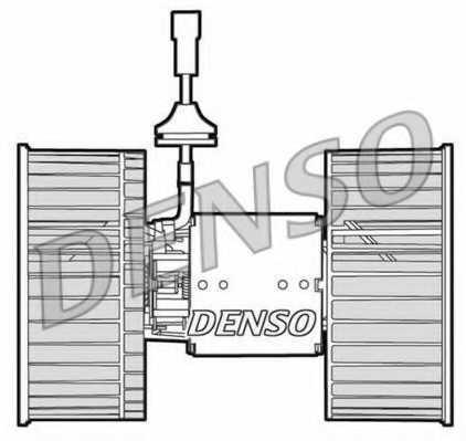 Вентилятор салона DENSO DEA12002 - изображение