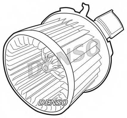 Вентилятор салона DENSO DEA21004 - изображение 1