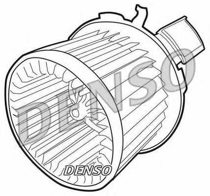 Вентилятор салона DENSO DEA21004 - изображение