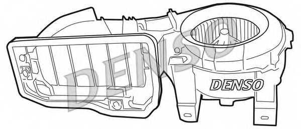 Вентилятор салона DENSO DEA23001 - изображение 1