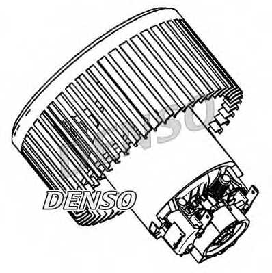 Вентилятор салона DENSO DEA23004 - изображение 1