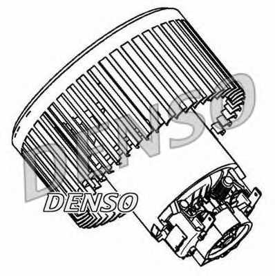 Вентилятор салона DENSO DEA23004 - изображение