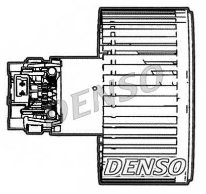 Вентилятор салона DENSO DEA23005 - изображение 1