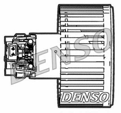 Вентилятор салона DENSO DEA23005 - изображение
