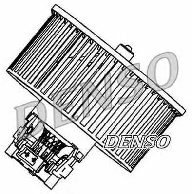 Вентилятор салона DENSO DEA23006 - изображение