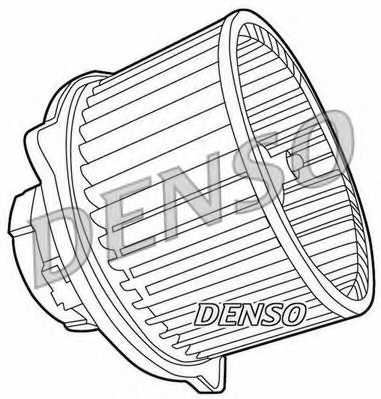 Вентилятор салона DENSO DEA41003 - изображение