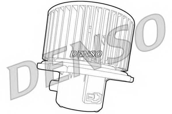 Вентилятор салона DENSO DEA41007 - изображение 1