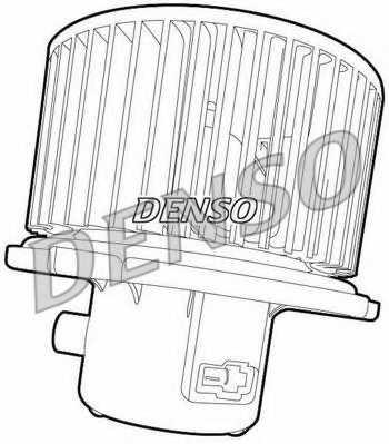 Вентилятор салона DENSO DEA41007 - изображение