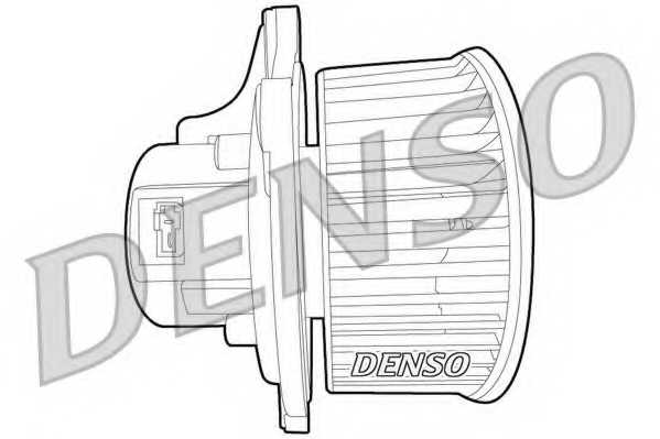 Вентилятор салона DENSO DEA43003 - изображение 1