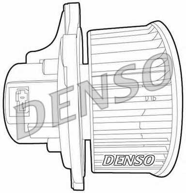 Вентилятор салона DENSO DEA43003 - изображение