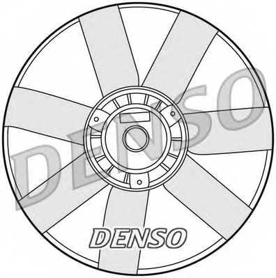 Вентилятор охлаждения двигателя DENSO DER32005 - изображение