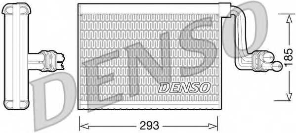Испаритель кондиционера DENSO DEV05002 - изображение
