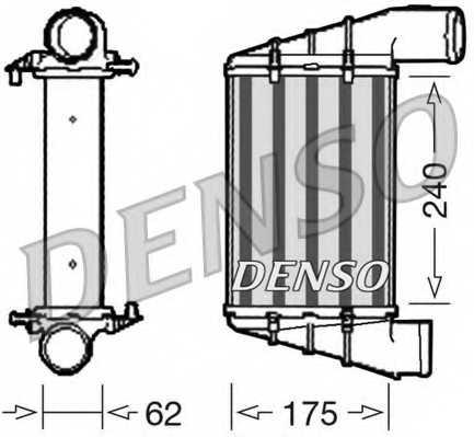 Интеркулер DENSO DIT02001 - изображение