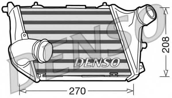Интеркулер DENSO DIT02015 - изображение