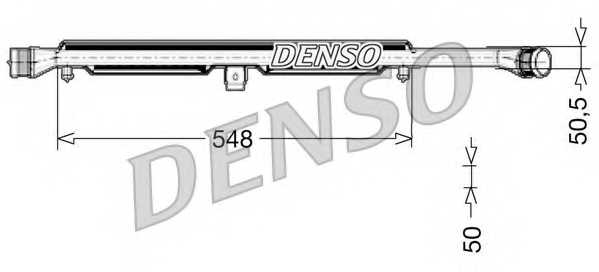 Интеркулер DENSO DIT02026 - изображение