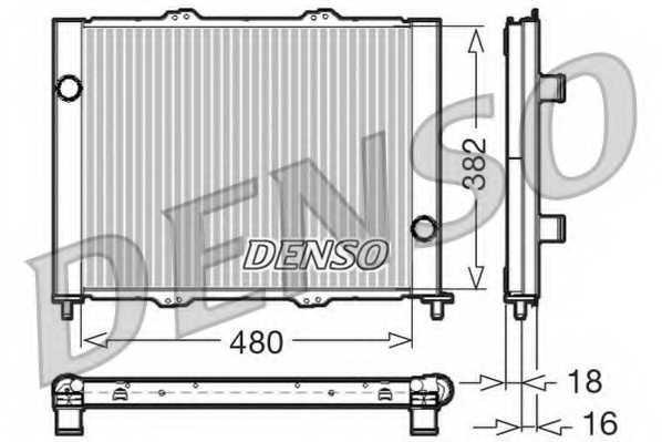 модуль охлаждения DENSO DRM23099 - изображение