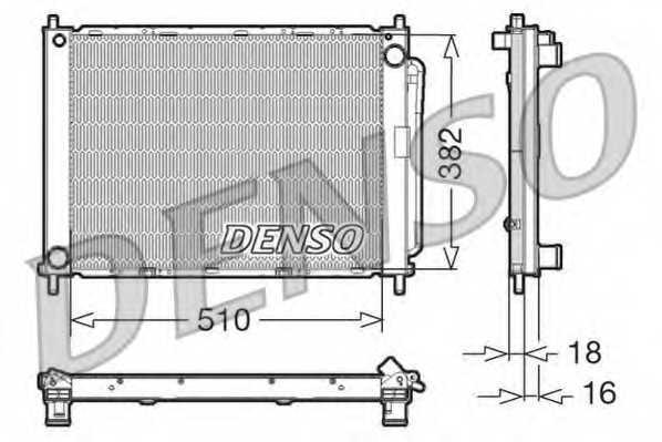 модуль охлаждения DENSO DRM23100 - изображение