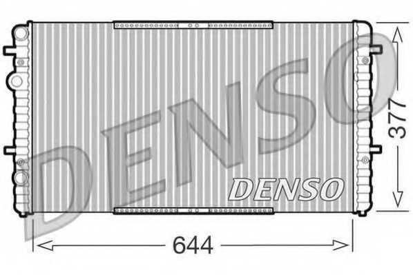 Радиатор охлаждения двигателя DENSO DRM26005 - изображение