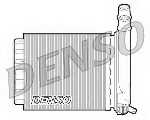 Радиатор отопления салона DENSO DRR07007 - изображение