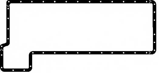 Прокладка, масляный поддон ELRING 001.652 - изображение