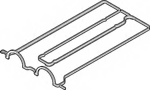Прокладка крышки головки цилиндра ELRING 026.570 - изображение
