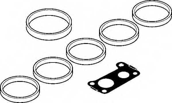 Комплект прокладок впускного коллектора ELRING 131.810 - изображение