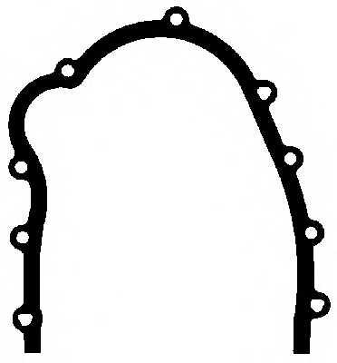 Прокладка, крышка картера рулевого механизма ELRING 133.433 - изображение