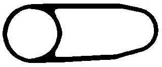 Прокладка корпуса маслянного фильтра ELRING 136.570 - изображение