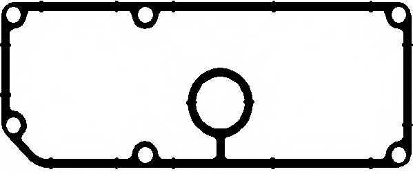Прокладка корпуса маслянного фильтра ELRING 136.580 - изображение