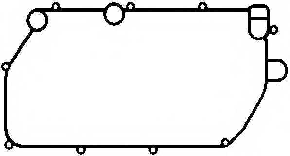 Прокладка, маслянный радиатор ELRING 157.540 - изображение