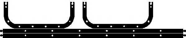 Прокладка, масляный поддон ELRING 175.024 - изображение