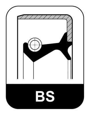 Сальник ступицы колеса ELRING 208.210 - изображение