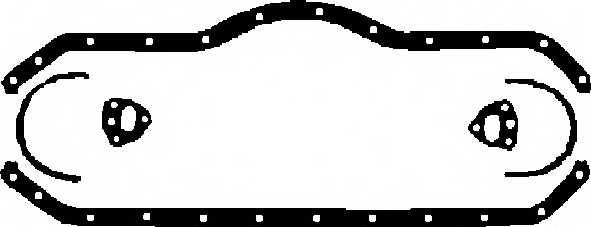 Комплект прокладок маслянного поддона ELRING 284.734 - изображение
